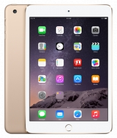 Планшет Apple iPad Mini 3 Wi-Fi  + Cellular 64GB Gold
