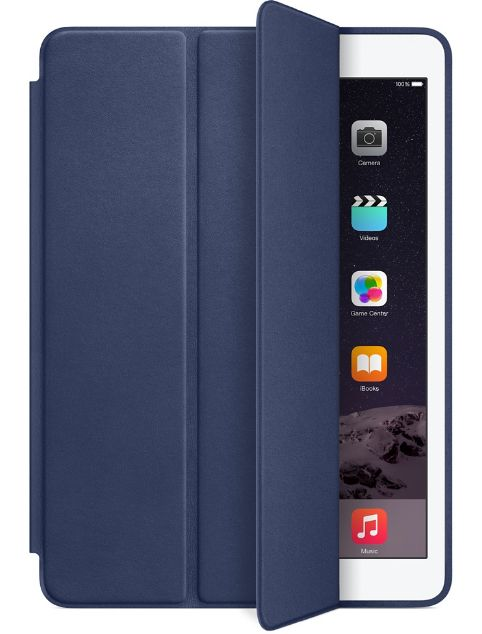 Чехол iPad Air 2 Smart Case - тёмно-синий (MGTT2ZM/A) midnight