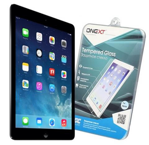 Защитное стекло Onext для планшета Apple iPad Air 2