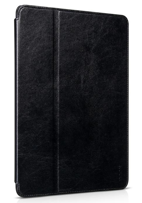 Чехол кожаный чехол HOCO Crystal Leather Smart Case для iPad Air 2 (черный)