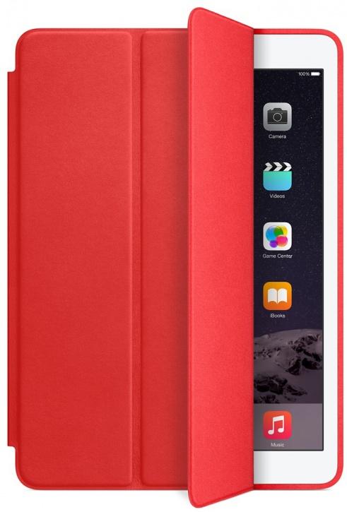 Чехол книжка для Apple iPad Air 2 Smart Case красный (реплика)