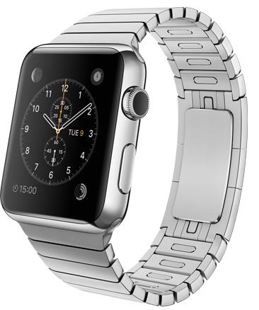 Apple Watch Link Bracelet Корпус 42 мм, нержавеющая сталь, блочный браслет из нержавеющей стали (MJ472)