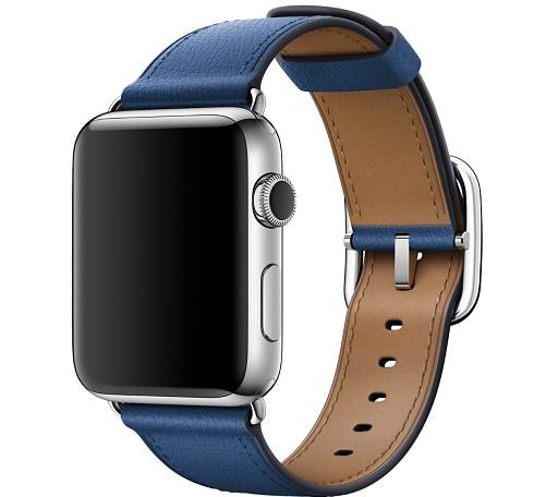 Ремешок цвета «синий сапфир» с классической пряжкой для Apple Watch 42 мм (MPX22ZM/A)