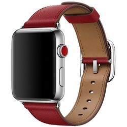 Ремешок apple modern buckle - brown коричневый,….
