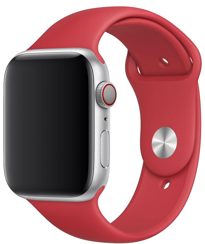 Спортивный ремешок (PRODUCT)RED для Apple Watch 44 мм, размеры S/M и M/L (MU9N2AM/A)