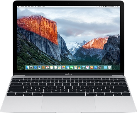 "Ноутбук Apple MacBook 12"" Retina 8x256 MLHA2 (серебристый) 2016"