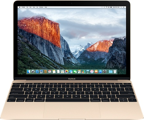"Ноутбук Apple MacBook 12"" Retina 8x512 (MLHF2RU/A) (золотой)"