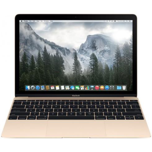 """Ноутбук Apple MacBook 12"""" 8x256 золотой MNYK2 2017"""