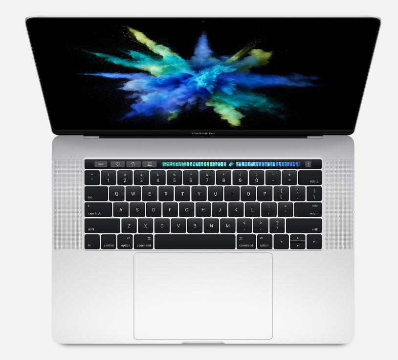 "Apple MacBook Pro 15"" MLW72 с Touch Bar (Core i7 2.6, 16x256, Radeon Pro 450) (серебристый)"