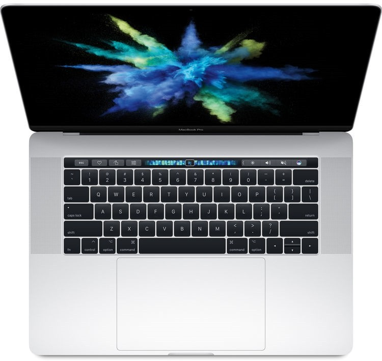 Apple MacBook Pro 15 дюймов MPTU2, серебристый (core i7 2.8/16/256) (2017)