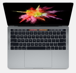 Apple MacBook Pro 13 дюймов MPXW2 с Touch Bar  (core i5 3.1/8/512) «серый космос»