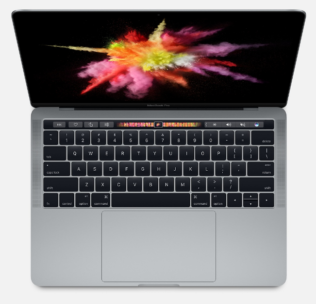 Apple MacBook Pro 13 дюймов MPXW2, «серый космос» (core i5 3.1/8/512)
