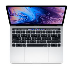 Apple MacBook Pro 13 дюймов MR9V2, серебристый (core i5 2.3/8/512) (2018)