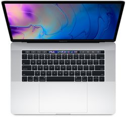 Apple MacBook Pro 15 MR972 с Touch Bar  «серебристый» (Core i7 2.6/16/512) (2018)