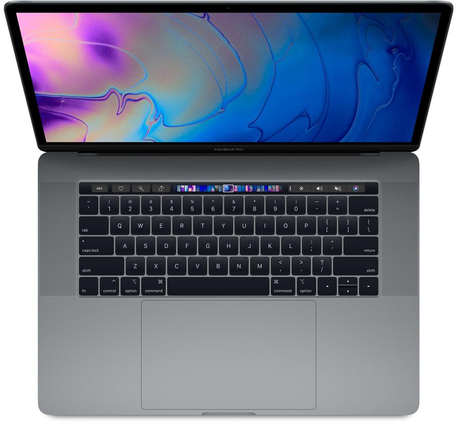 "Apple MacBook Pro 15"" серый космос MR932 (i7 2.2/16/256) 2018"
