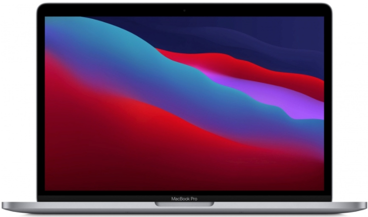 "Ноутбук Apple MacBook Pro 13"" Apple M1/8Gb/256Gb space gray (MYD82) 2020г."