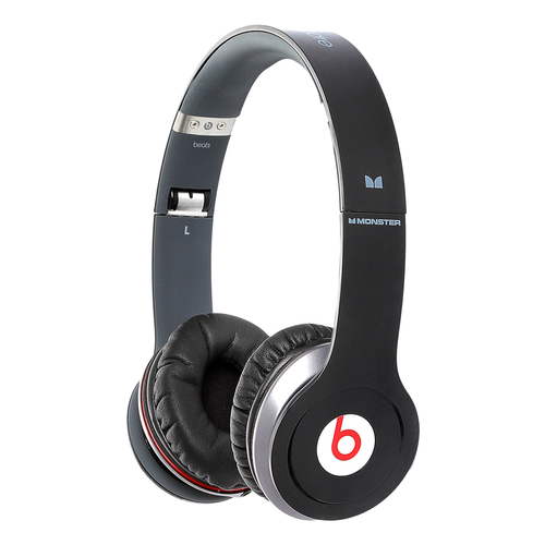 Наушники Monster Beats Cable Solo HD with ControlTalk BLACK 129506-00