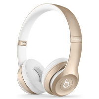 Наушники Bluetooth Beats Solo 2 Wireless Gold MKLD2ZM/A