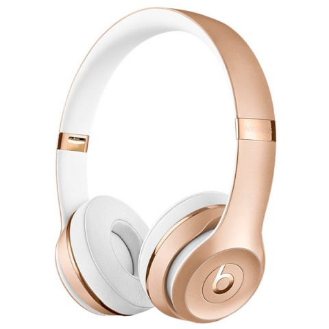 Беспроводные наушники Beats Solo3 Wireless On-Ear Black Bluetooth MP582ZE/A (золотые)