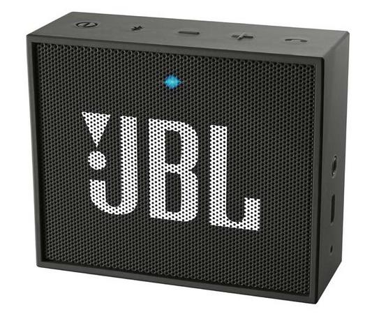 Беспроводная акустика JBL GO Black (JBLGOBLK)