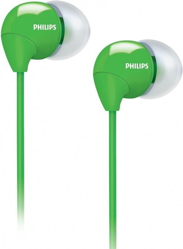 Наушники Philips SHE3590WT/10 (зелёные)