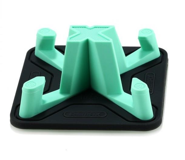 Универсальный автомобильный держатель REMAX RM-C25 силиконовый (зеленый)