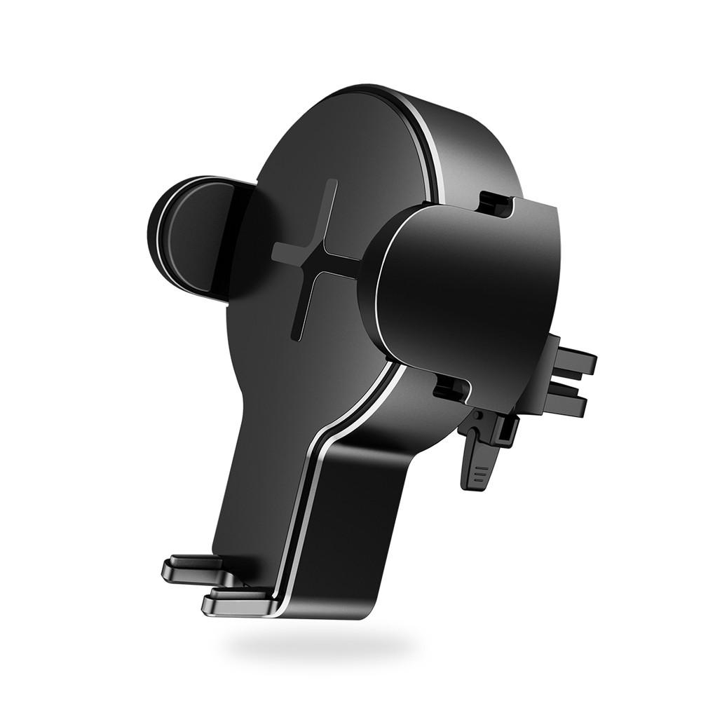 Автомобильный держатель с функцией беcпроводной зарядки Rock W2 Car Wireless Charging Stand (WTS-C002-005) черный