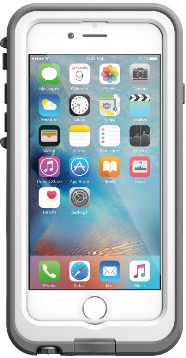 Чехол-аккумулятор LifeProof Fre Power для Apple iPhone 6/6S Avalanch (белый)
