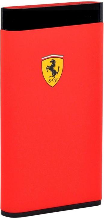 Портативное зарядное устройство CG Mobile Ferrari LCD 5000mAh (красный)