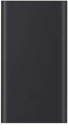 Портативное зарядное устройство (внешний аккумулятор) Xiaomi Mi Power Bank 2 10000 mAh (черный)