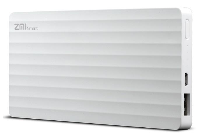 Портативное зарядное устройство Xiaomi ZMi Power Bank 10000 mAh (белый)