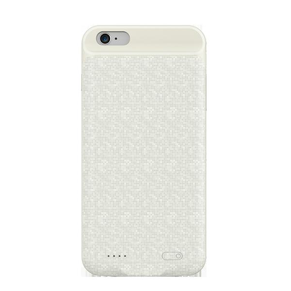 Чехол-аккумулятор Baseus Power Bank Case для iPhone 6/6S Plus (белый)