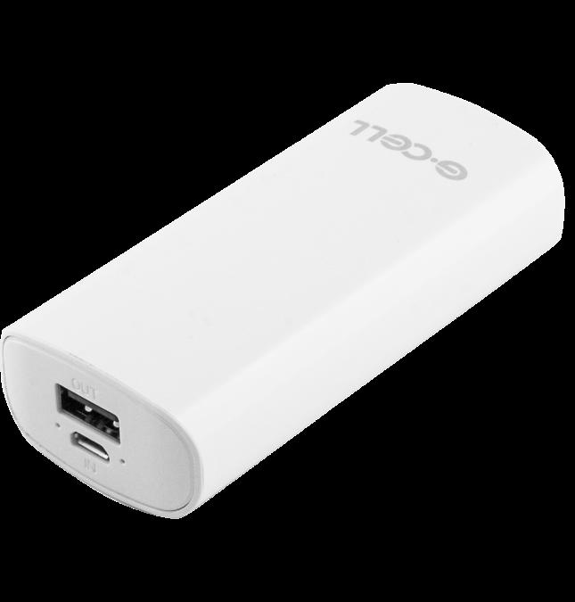 Портативное зарядное устройство G-CELL Power Bank GC-H3 3000 mAh (белый)