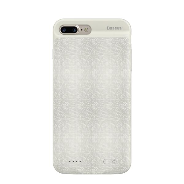 Чехол-аккумулятор Baseus Power Bank 3650mAh Case для iPhone 7 Plus/8 Plus (белый)