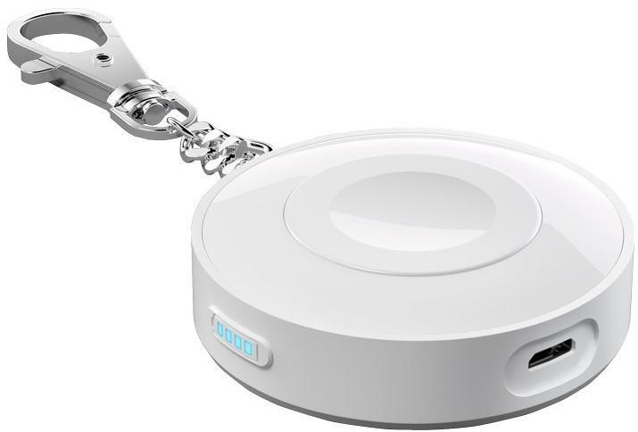 Портативное зарядное устройство Deppa 33516 для Apple Watch 900 mAh (белый)