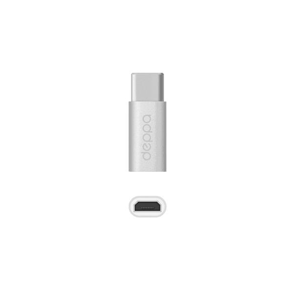 Адаптер переходник Deppa 73114 Type-C - micro USB