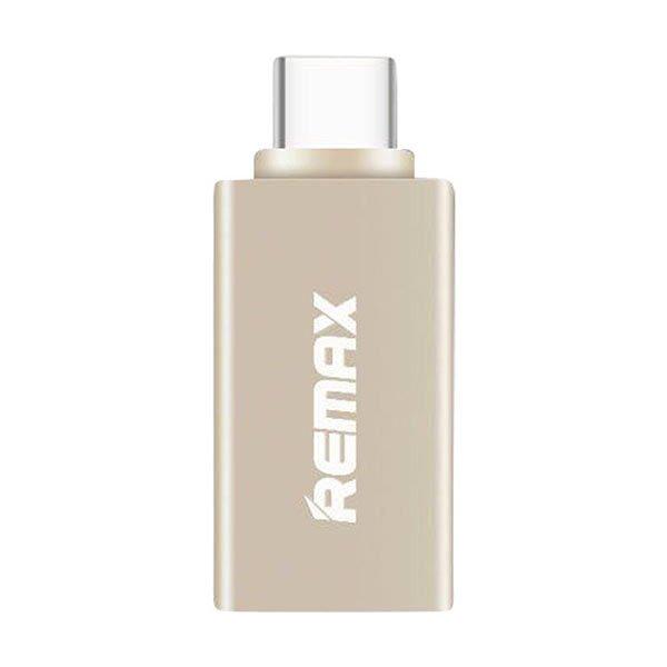 Переходник Remax USB Type-C – USB 3.0 RA-OTG1 (золото)