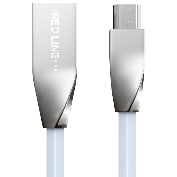 Кабель Red Line Smart High Speed USB-micro USB White (белый)