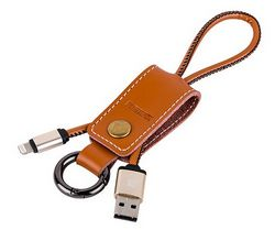 Кабель Remax Western Lighting Lightning 8-pin - USB (коричневый)