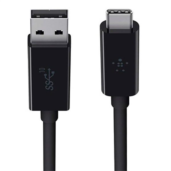 Кабель USB Type-C Belkin 3.1 USB-A to USB-C F2CU029bt1M-BLK (черный)