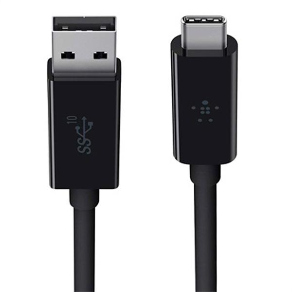 Кабель USB Type-C Belkin 3.1 USB-A to USB-C F2CU029bt1M-BLK (черный)