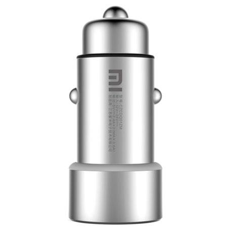 Автомобильное зарядное устройство Xiaomi USB Dual Autolader (серебристый)