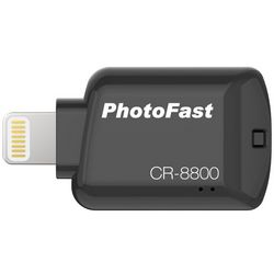 Картридер PhotoFast iOS Card Reader для Apple, черный