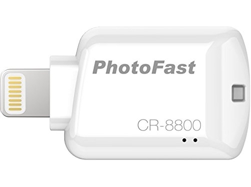 Картридер PhotoFast iOS Card Reader для Apple, белый