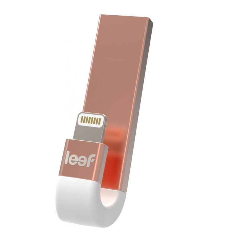 USB флешка Leef iBridge 3 64Gb (Розовое золото )