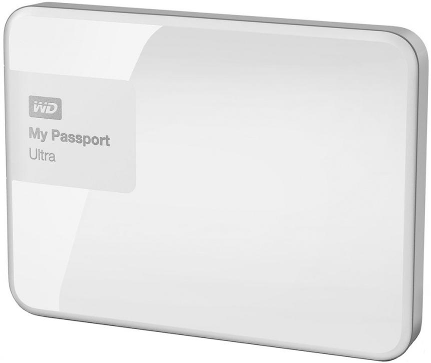 Внешний жесткий диск WD My Passport Ultra 1TB (белый)