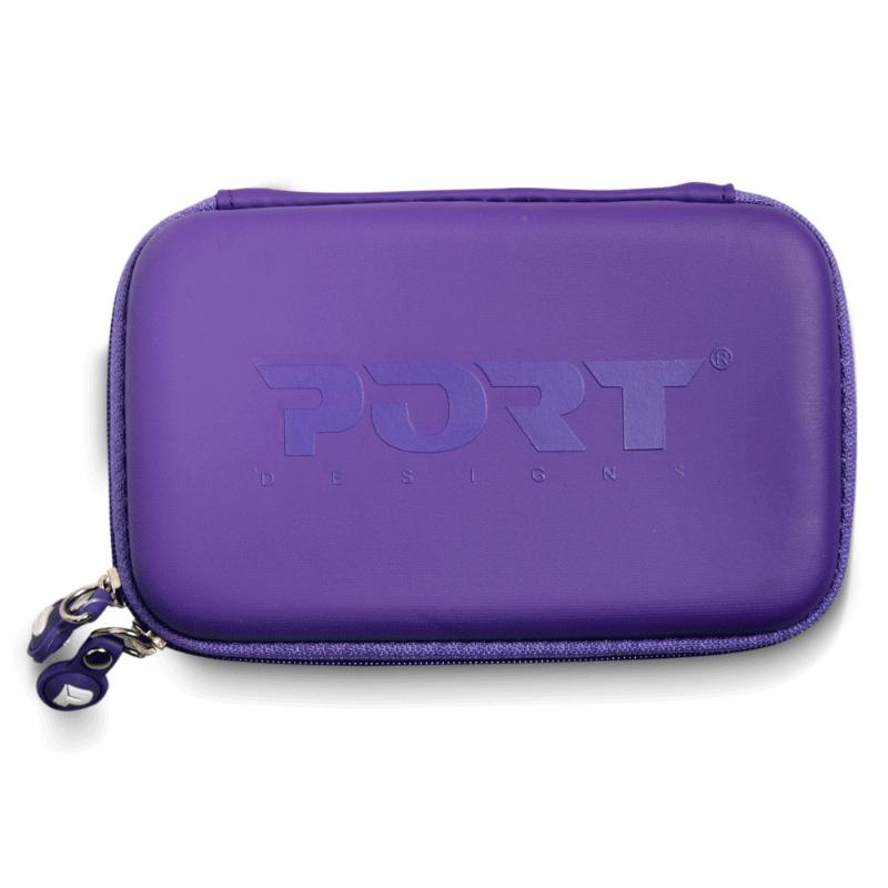 """Чехол защитный PORT Designs COLORADO PURPLE для жесткого диска HDD 2.5"""" (сиреневый)"""