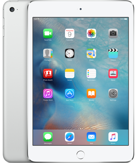 Планшет Apple iPad Mini 4 Wi-Fi 128GB Silver