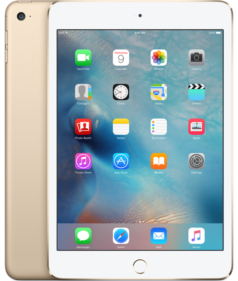 Планшет Apple iPad Mini 4 Wi-Fi + Cellular 16GB Gold