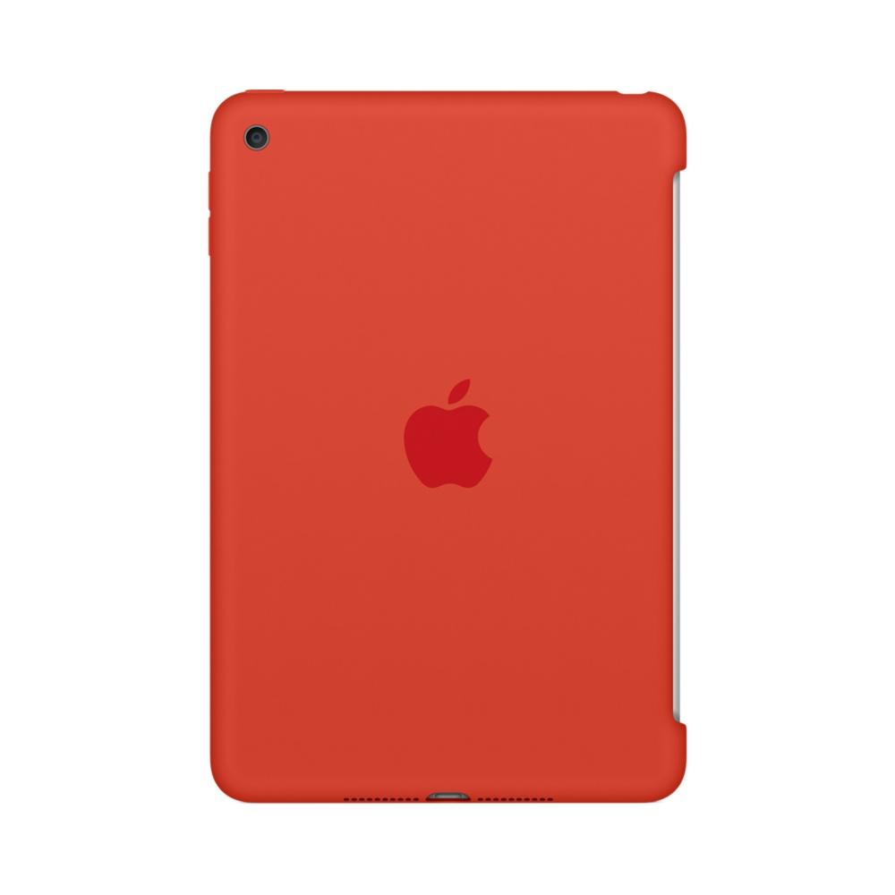 Силиконовый чехол для iPad mini 4 - оранжевый